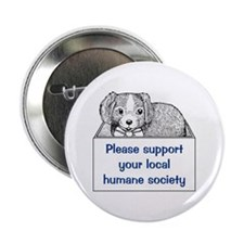 """Please Support 2.25"""" Button (10 pack)"""