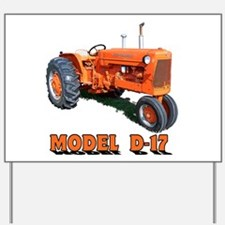 Cute Allis chalmers Yard Sign