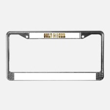 Unique Cougar License Plate Frame