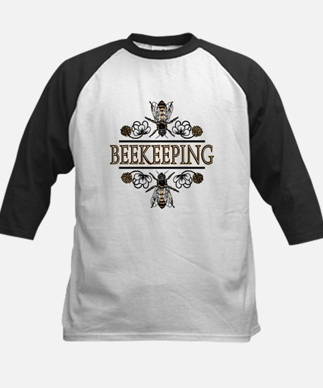 Bees With Clover Kids Baseball Jersey