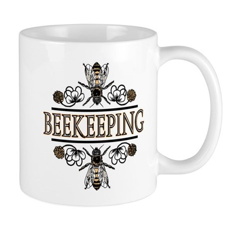 Bees With Clover Mug