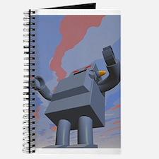 Retro Style Robot 2 Journal