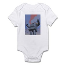 Retro Style Robot 2 Infant Bodysuit