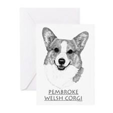 Pembroke Corgi Neutral Greeting Cards (Pk of 10)