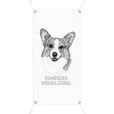 Pembroke Welsh Corgi Neutral Banner