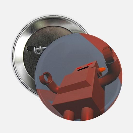 "Retro Style Robot 3 2.25"" Button"