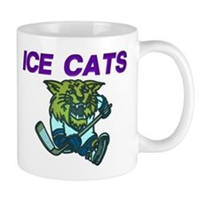 "Old School Logo ""Kitten"" Small Mug"