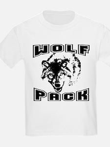 Wolf Pack ~ Black T-Shirt