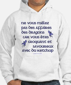 Affairs of French Dragons Hoodie