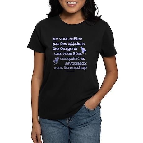 Affairs of French Dragons Women's Dark T-Shirt