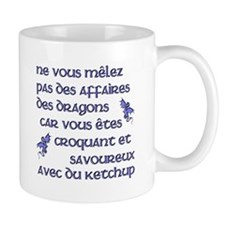 Affairs of French Dragons Small Mug