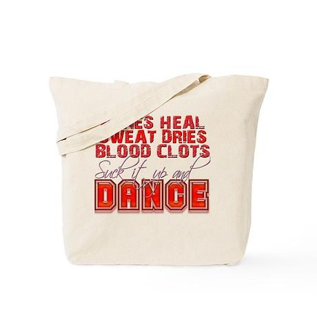 Bones Heal, Blood Clots, Danc Tote Bag