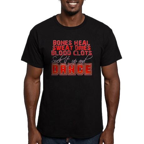 Bones Heal, Blood Clots, Danc Men's Fitted T-Shirt