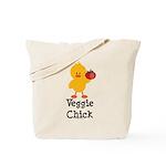 Veggie Chick Tote Bag