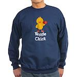 Veggie Chick Sweatshirt (dark)