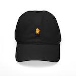 Veggie Chick Black Cap