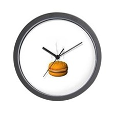 Hamburger Time Wall Clock