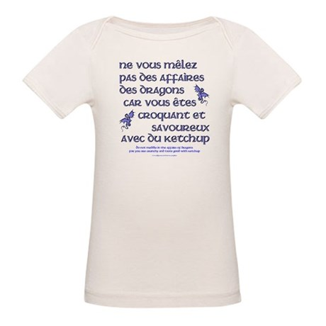 Affairs of French Dragons Organic Baby T-Shirt