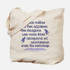 Affairs of French Dragons Tote Bag