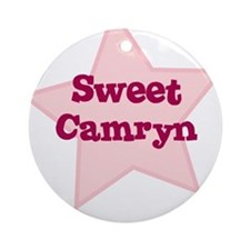 Sweet Camryn Ornament (Round)