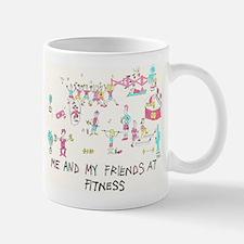 Cute Aerobics Mug