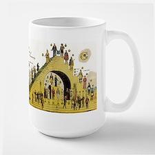 Steps of Freemasonry Large Mug