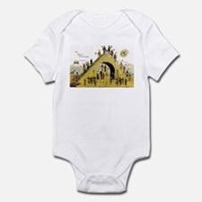 Steps of Freemasonry Infant Bodysuit
