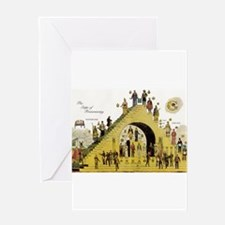 Steps of Freemasonry Greeting Card