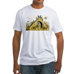 Steps of Freemasonry Fitted T-Shirt