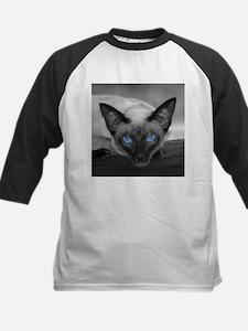 Siamese Cat B&W Photo Art Tee