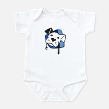 BW Logo Color Stripped Infant Bodysuit
