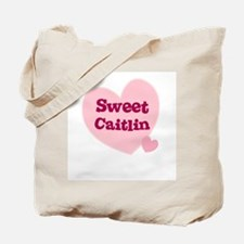 Sweet Caitlin Tote Bag