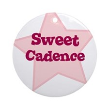 Sweet Cadence Ornament (Round)