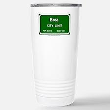 Brea Stainless Steel Travel Mug