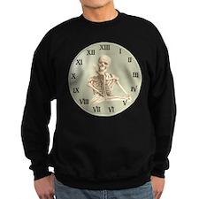 13 Hour Skeleton Clock Sweatshirt