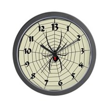 13 Hour Spiderweb Clock Wall Clock