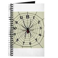 13 Hour Spiderweb Clock Journal