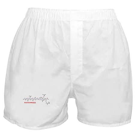 Alessandro name molecule Boxer Shorts