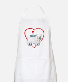 sealyham terrier love BBQ Apron