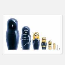 Fetish Russian Dolls Postcards (Package of 8)