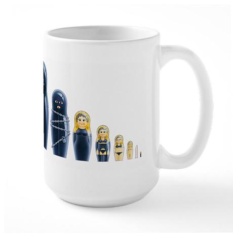 Fetish Russian Dolls Large Mug