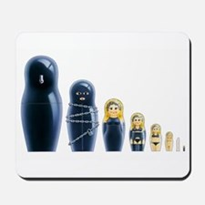 Fetish Russian Dolls Mousepad