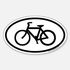 Bike Euro Oval Decal