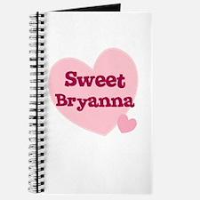 Sweet Bryanna Journal
