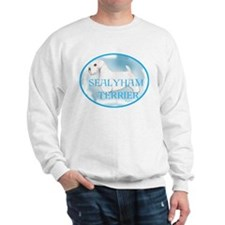 sealyham portrait Sweatshirt
