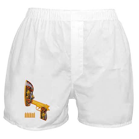 Russian Roulette (Safe Sex) Boxer Shorts