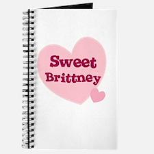 Sweet Brittney Journal