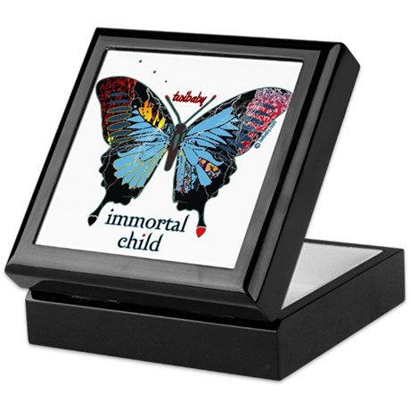 Twibaby Butterfly Heart Keepsake Box