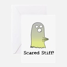 Scared Stiff Greeting Card