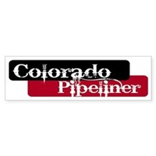 Colorado Pipeliner Bumper Bumper Bumper Sticker